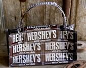 Hersheys Milk Chocolate Hand bag/ purse 1980s