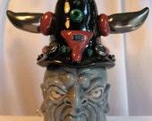 Boltaan Original OOAK Collectible Porcelain Face Jug