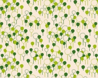 Anthology Fabrics - Khristian A Howell - The Woodlands - Forest Cream - (1 Yard)