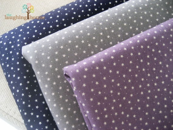 JAPANESE Fabric Bundle - Tiny Stars in 3 Colours (Fat Quarter)