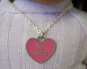 "American Girl 18 "" inch Doll and Girl Pink Heart Necklace Jewelry Accessories Bracelet Child"