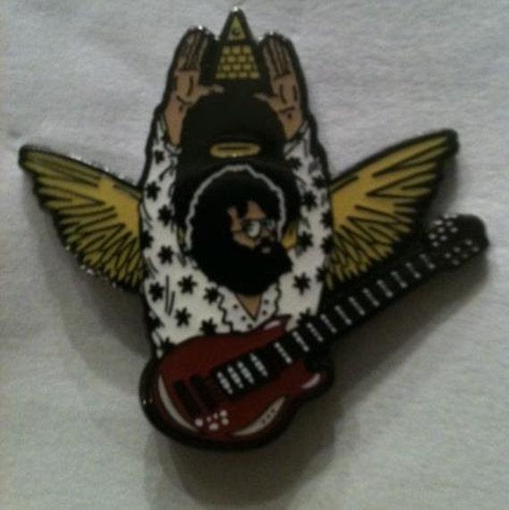 "Grateful Dead ""Guardian Angel Jerry"" Pin"