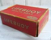 vintage LIFEBUOY Bar SOAP in Original Box Good Housekeeping Seal