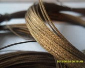 RESERVED  480 Feet VINTAGE BRONZE wire rolls - tiller old tool jewelry supply