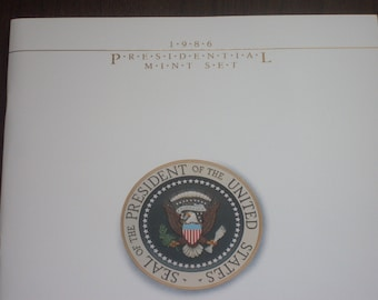 1986 Presidential Stamp Mint Set