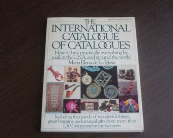 1982 International Catalogue of Catalogues First Edition