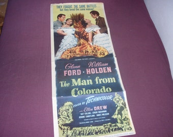 1948 The Man From Colorado Movie Poster