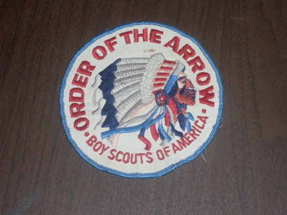 1950s Order Of The Arrow Boy Scout Patch