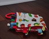 Hungry Caterpillar Tag Blanket - Personalization Available