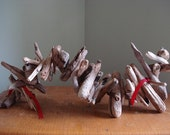 Driftwood centrepiece or table decoration or ornament