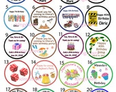 Birthday Party any theme Edible cookie cupcake tops party character decoration