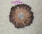 Diamond Daisy Flower - Coffee