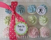 Cupcake Bath Bomb gift set