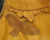 Rough Edge Deerskin  Vest