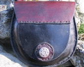 Leather Sporan  style bag./ pouch