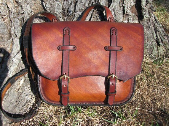 Leather Field Bag