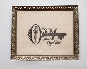 The 21 Key Club mini poster 8x10