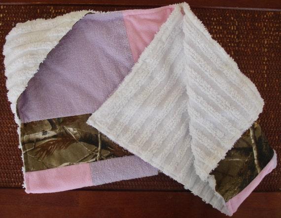 Camo Girl Towel with hood