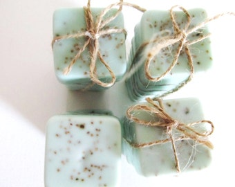 Soap Wedding Favors -Bridal Shower - Party Favors - Rustic Wedding - Custom Wedding Favors in your Wedding colors