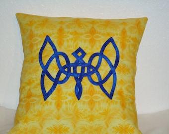 Celtic Butterfly, Celtic Knotwork, Pillow Sham