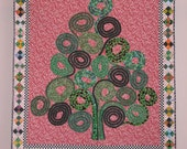 Christmas Tree of Life 2 wall quilt