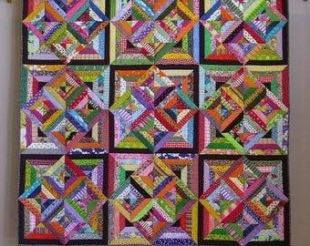 Fabric Soup wall quilt