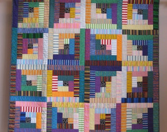 Sara's #6 in Stripes wall quilt