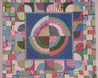 Going In Circles wall quilt