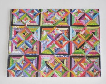 Quilt note card (folded)