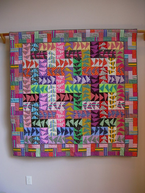 Wild Geese wall quilt