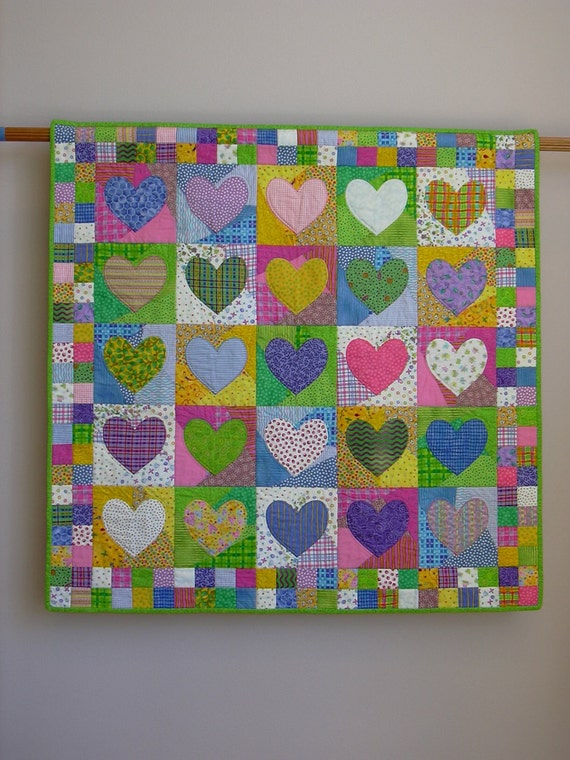 Change of Heart wall quilt