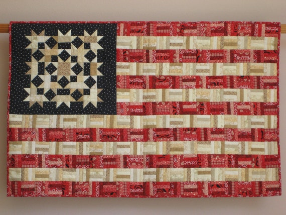 Flag No. 2 wall quilt