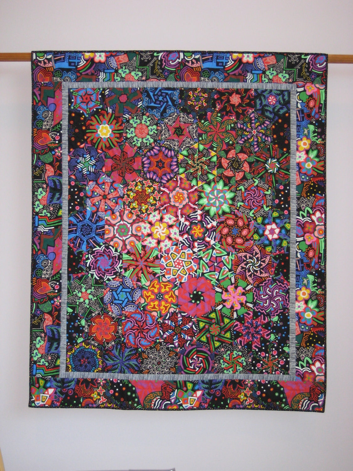 Galaxy 1 wall quilt for Galaxy quilt fabric