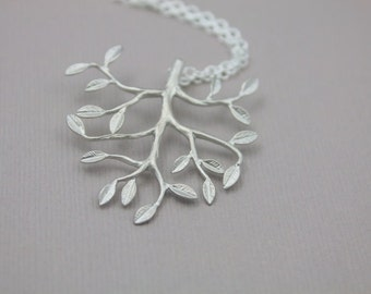171- Tree of Life - Sterling silver tree necklace