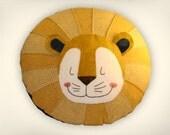Sleeping Lion Pillow