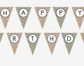 Sesame Street Printable Birthday Bunting Banner (DIY)
