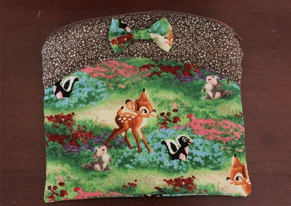 Bambi Flower Thumper Make-Up Bag