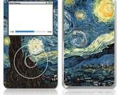 Apple iPod Classic Decal Skin - Van Gogh Starry Night