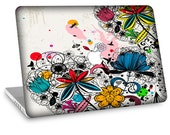 "Apple Macbook Air 11"" 13"" Decal Skin and Apple Macbook Pro 13"" 15"" Decal Skin - Colorful Wild Flowers"