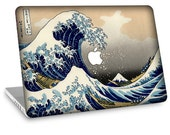 "Apple Macbook Air 11"" 13"" Decal Skin and Apple Macbook Pro 13"" 15"" Decal Skin - The Great Wave"
