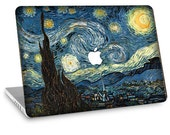 "Apple Macbook Air 11"" 13"" Decal Skin and Apple Macbook Pro 13"" 15"" Decal Skin - Van Gogh Starry Night"