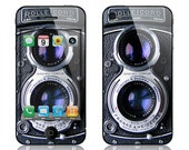 Apple iPhone 4 4S Decal Skin Cover - Rolleicord Vintage Camera
