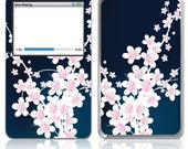 Apple iPod Classic Decal Skin Cover - Night Bloom