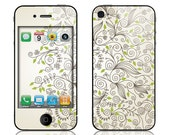 Apple iPhone 3G / 3GS, iPhone 4 / 4s, iPhone 5 / 5s, iPhone 5c, iPhone 6, iPhone 6 Plus Decal Skin Cover - Foliage