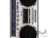 Apple iPhone 4 4S Slim Hard Case Cover  -  Boombox