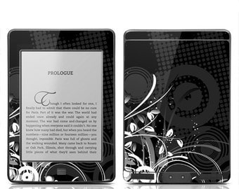Amazon Kindle Touch Decal Skin Cover - Black Grunge