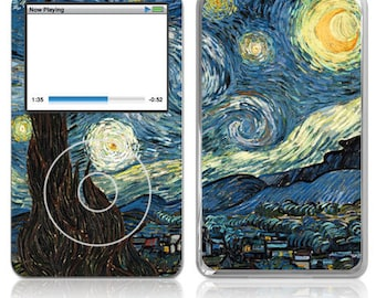 Apple iPod Classic Decal Skin - Van Gogh Starry Night