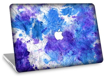 "Apple Macbook Air 11"" 13"" Decal Skin and Apple Macbook Pro 13"" 15"" Decal Skin  - Blue Tie Dye"