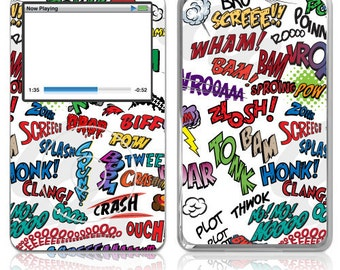 Apple iPod Classic Decal Skin Cover - Action