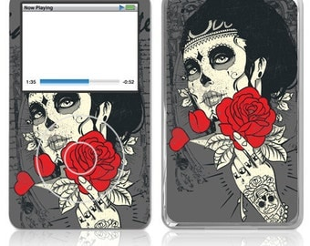 Apple iPod Classic Decal Skin Cover - Dia de los Muertos